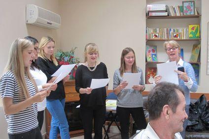 Jesienna wizyta wolontariuszy ze Żmigrodu