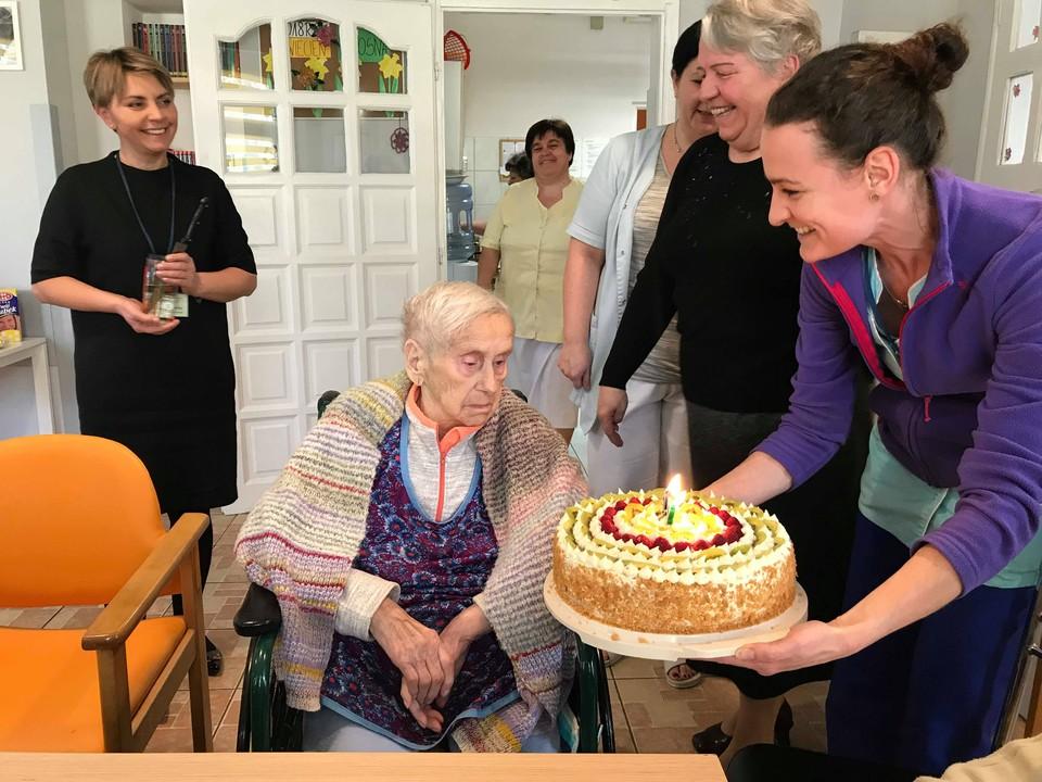 102 urodziny naszej podopiecznej!